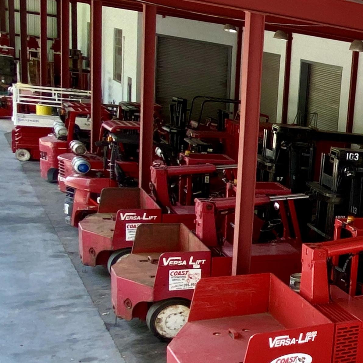 Rigging Forklifts